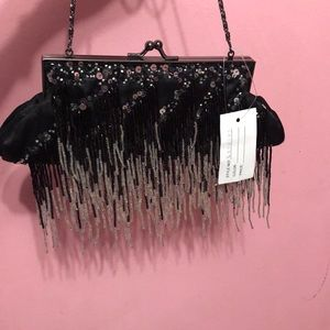 Black vintage purse brand new with tag